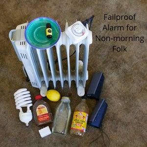 DIY Failproof Alarm Clock System