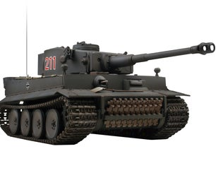 Modding a Tank for Wireless Control