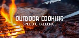 Outdoor Cooking Speed Challenge