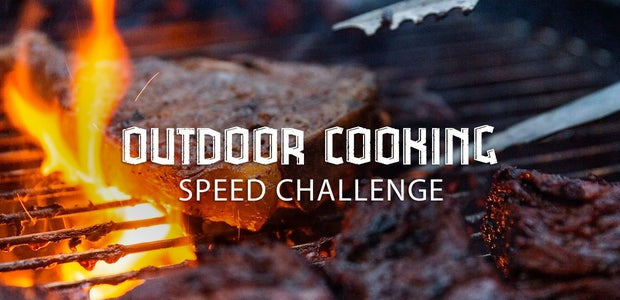 Outdoor Cooking Speed Challenge