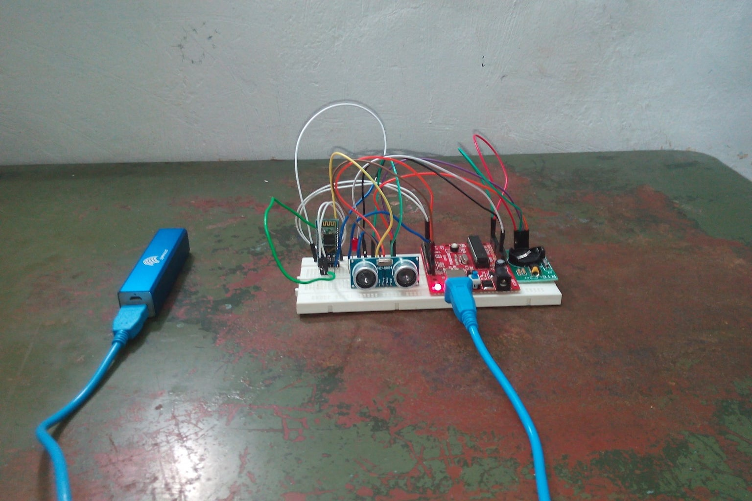 Basic Android Controlled Motion Detector