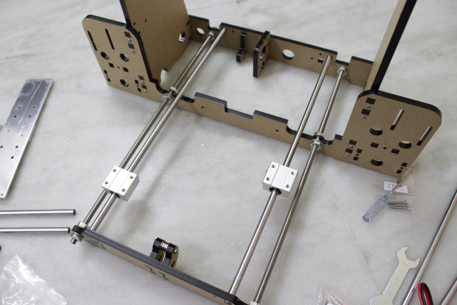Y Axis Rail Installation