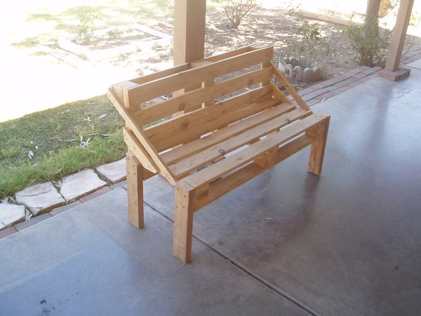 Pallet Bench Project