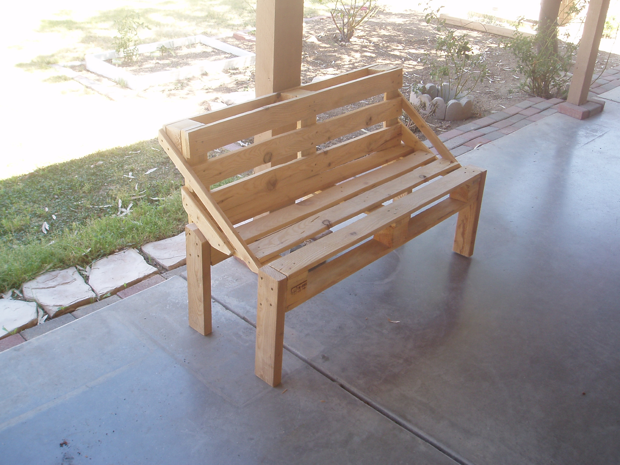 Pallet Bench Project 6 Steps With Pictures Instructables