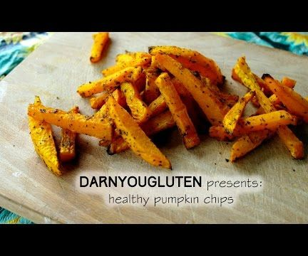 Oven Baked Pumpkin Fries (GF)