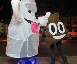 Emoji Ghost Costume