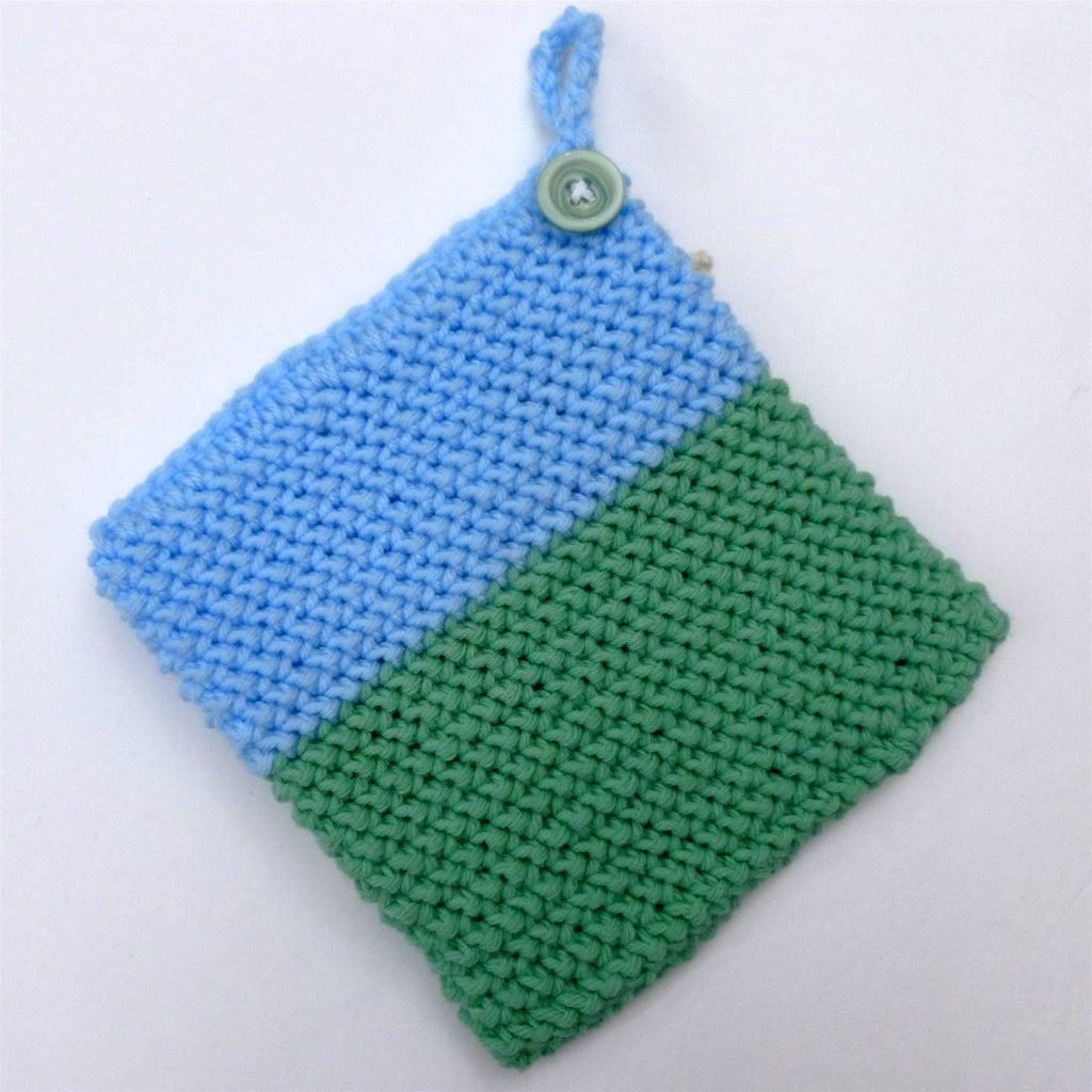 1970s Inspired Crocheted Potholders