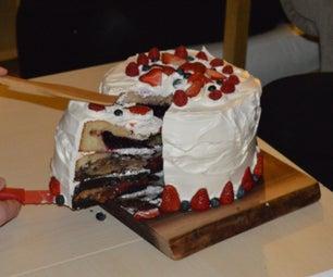Pie Cake (3.14 - 3 Pies in 1 Cake = 4 Desserts)