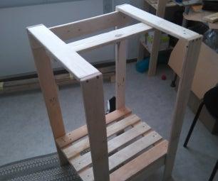 Sturdy Shelf Stand on the Cheap