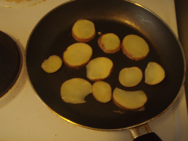 Cut and Fry Potatoes
