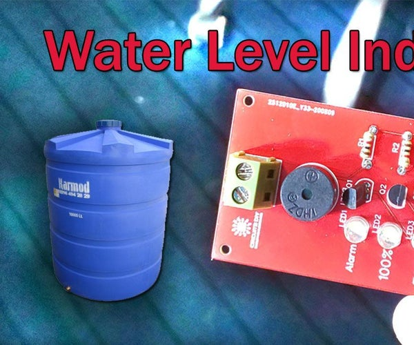 Simple Water Level Indicator
