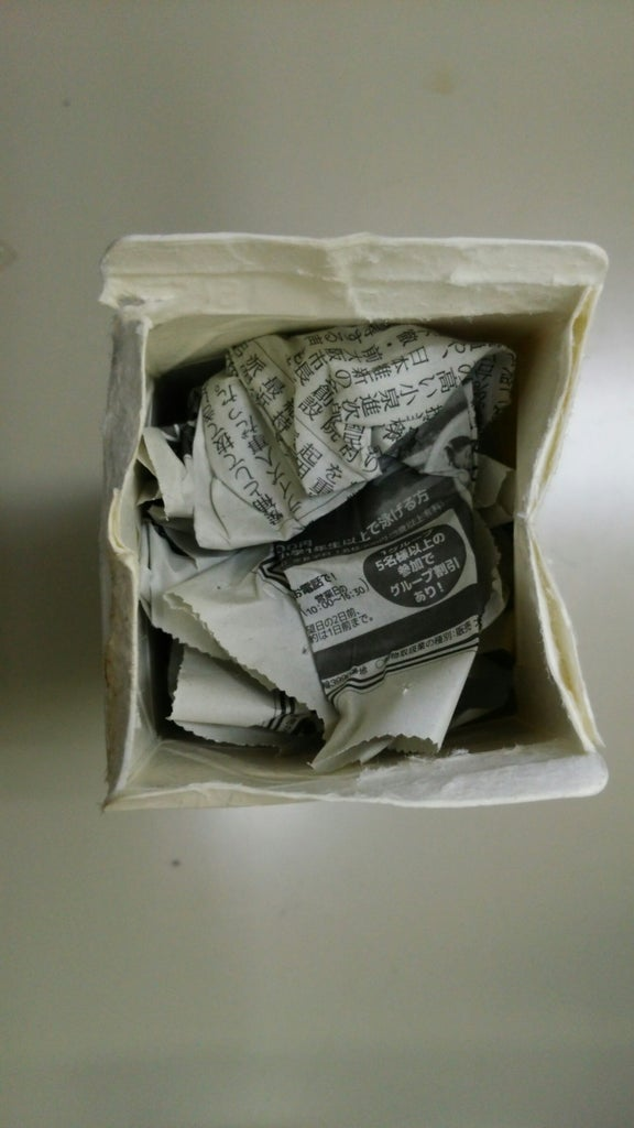Stuff Newspapers Into All Milk Cartons