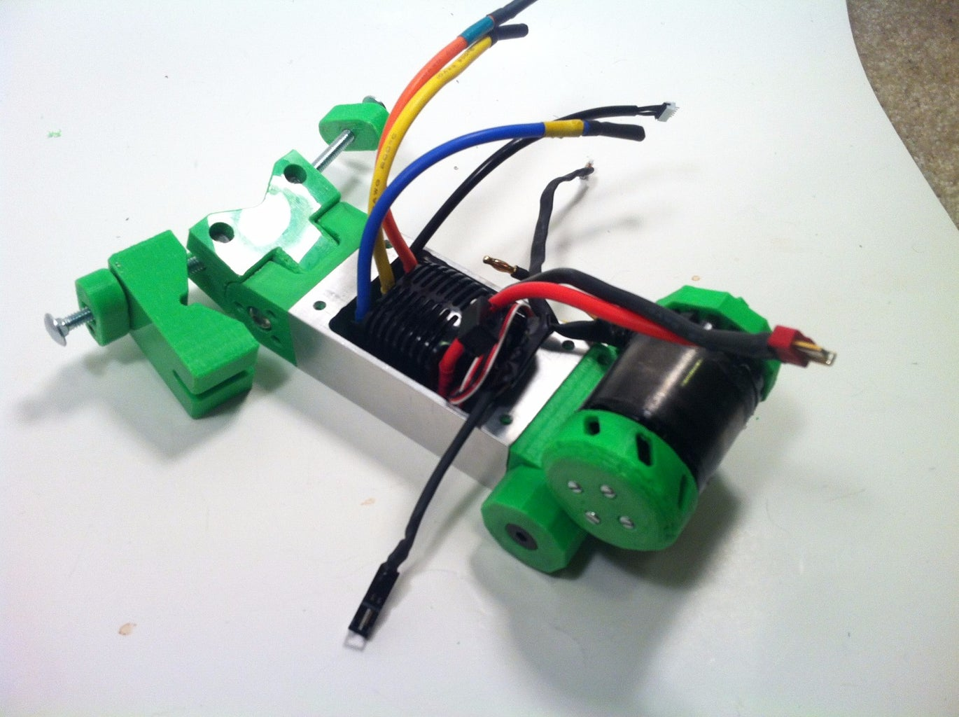 ASSEMBLY: MOUNT TO FRAME & WIRE IT UP