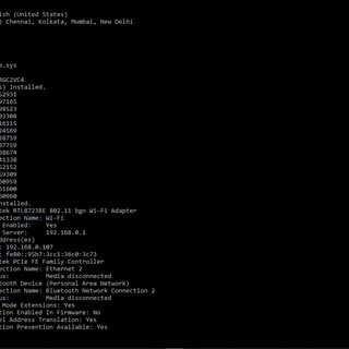 Look Like a Hacker! (Batch File)