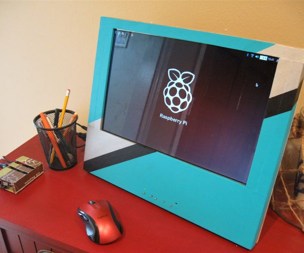 Re-purposed Laptop Screen for Raspberry Pi
