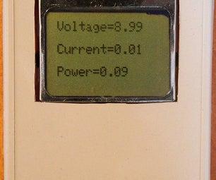 Arduino Ampermeter (ZXCT IC's)