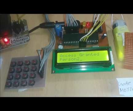 RFID Based Home Security System Using 8051