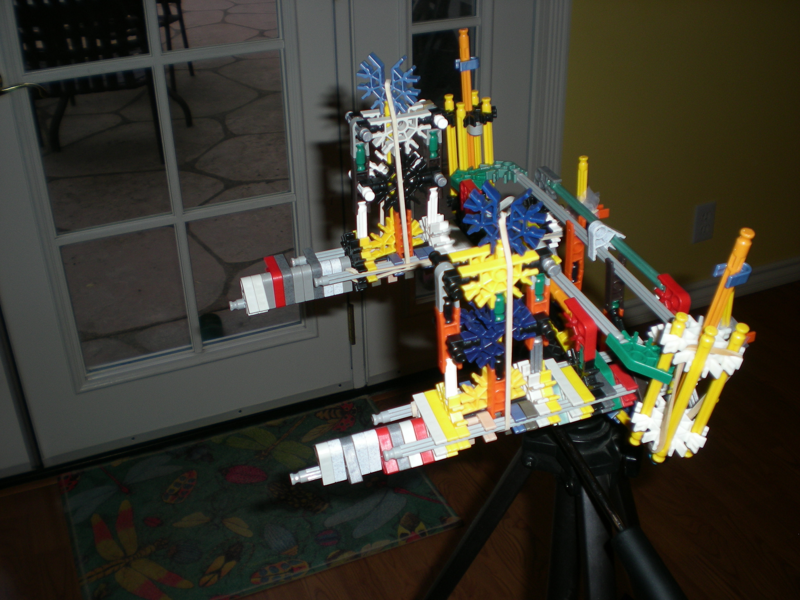 Double Barreled knex gun