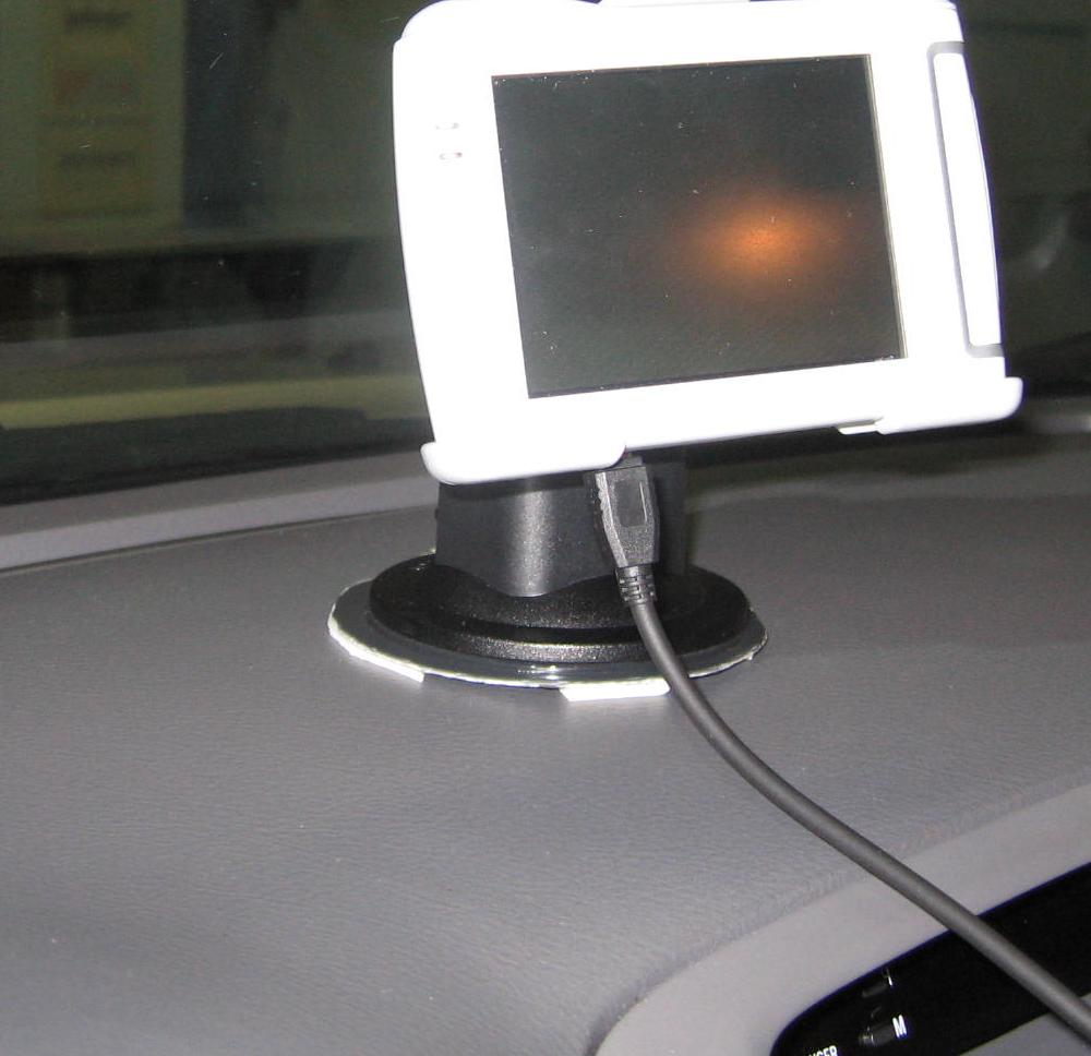 Dashboard Disk Mount for GPS and other suction cup devices