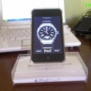 Crystal clear cradle for 3rd gen ipod Touch