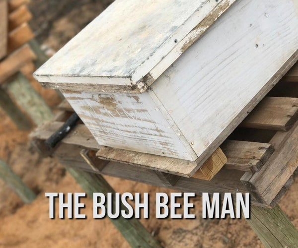 How to Build a Bee Hive Stand on the Cheap