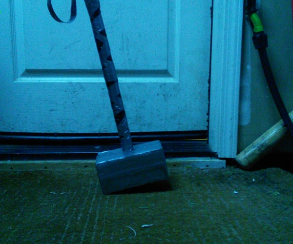 How to Make a Thor Hammer