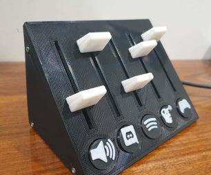 Deej Box - 5 Sliders