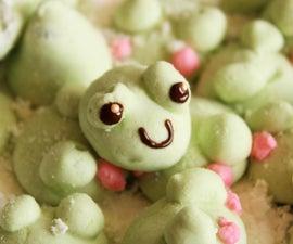 Matcha Green Tea Frog Marshmallows (beginner-friendly Piped Marshmallows)