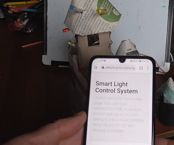 DIY Smart Light Control Syste