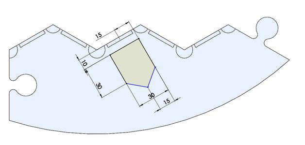 Designing the Border Tiles