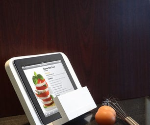iPad recipe holder