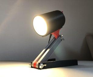 Bedside Lamp - LED 12V 2.5W - 3D Printed