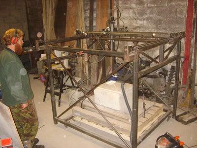 The Build, CNC Machined Parts