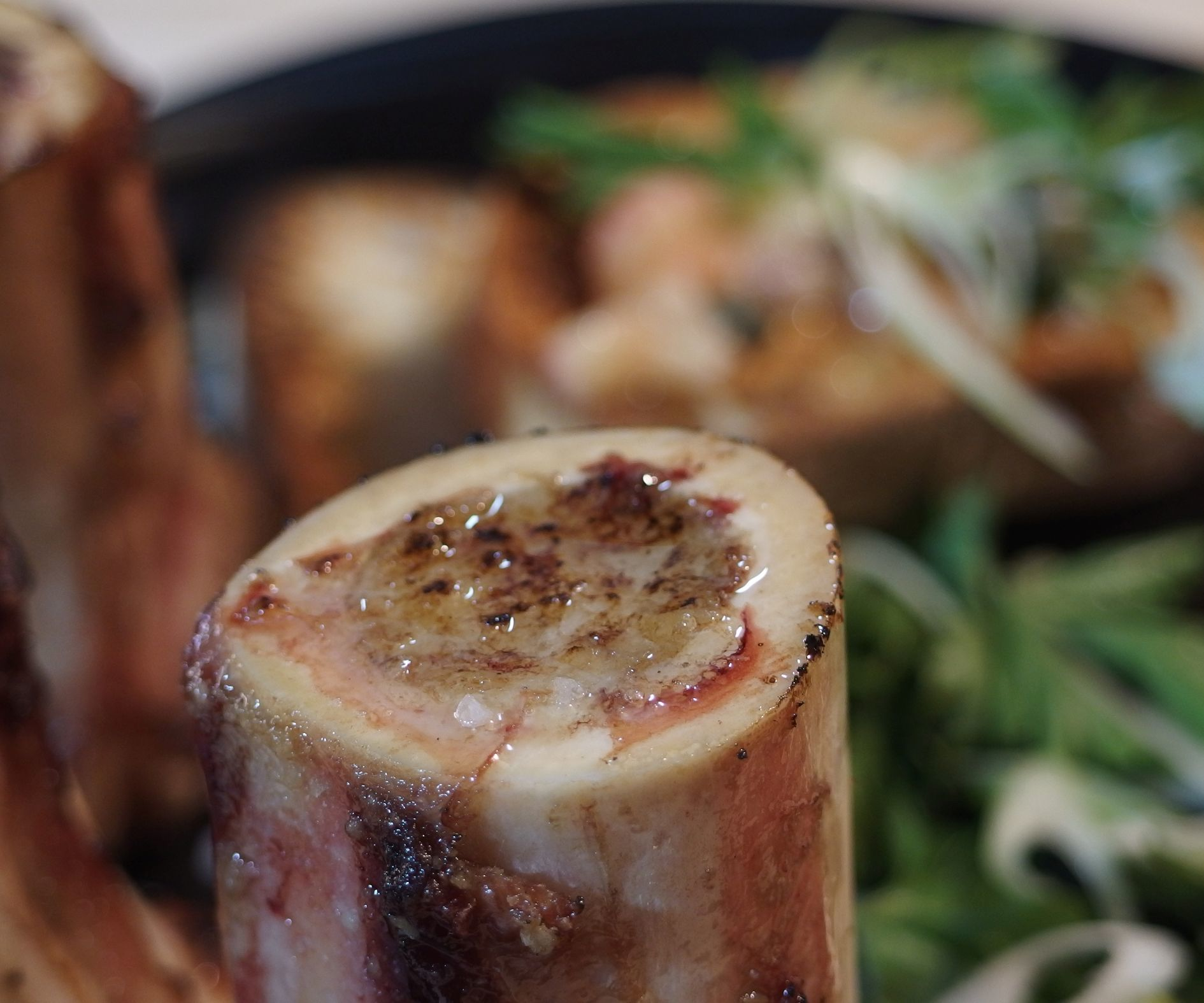 BBQ Roasted Bone Marrow