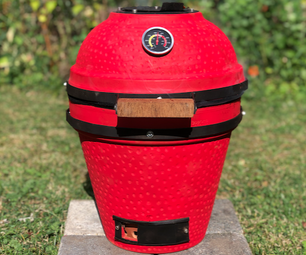 Flowerpot Kamado BBQ