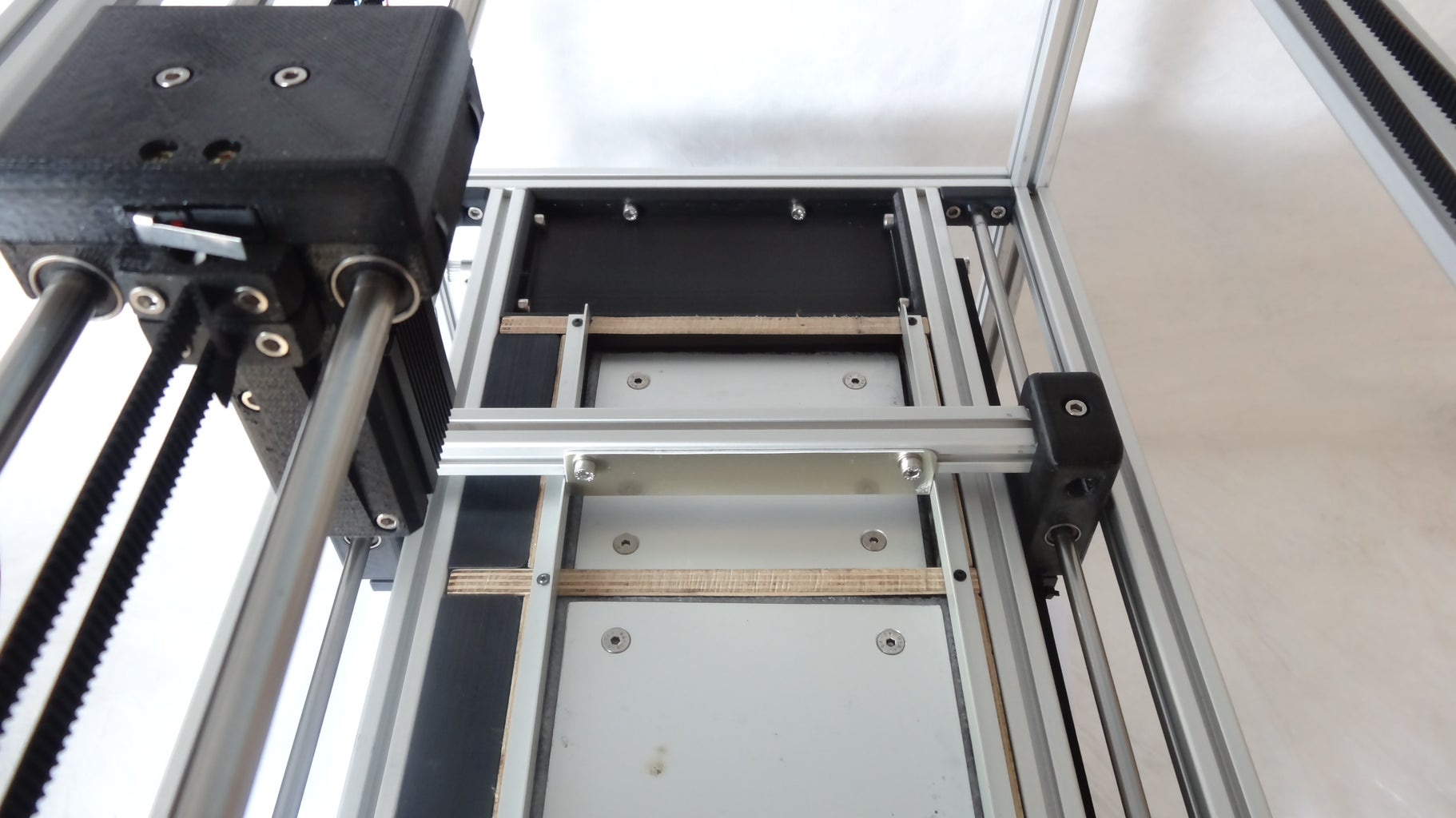 Install Small Extrusions to the Pusher
