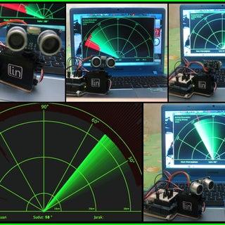 Arduino Ultrasonic Radar Project