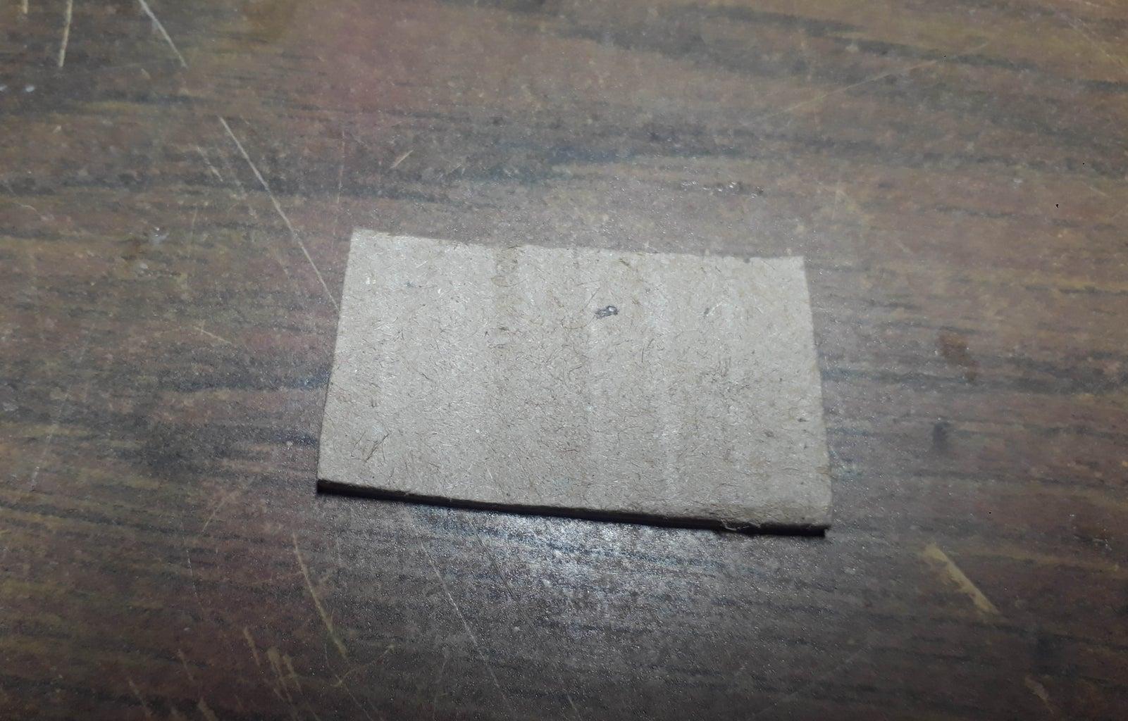 Push Button Using Cardboard and Aluminium Foil