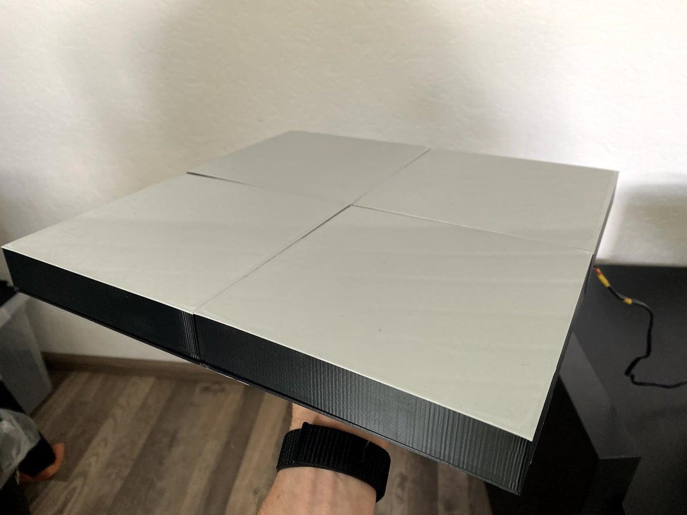 10x10 RGB Matrix (3D-Printed) With Adalight Protocol