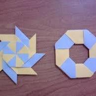Origami Transforming Ninja Star (Shurriken) Modular!