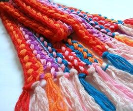易钩针围巾(适用于初学者!)