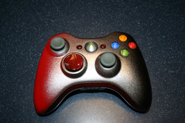 Create a Sweet Looking Xbox Controller Paint Job