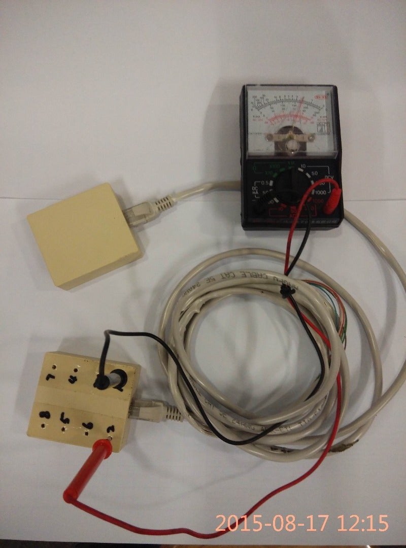 Simpler Ethernet Cable Tester