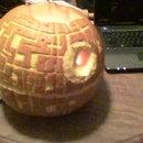 """""""The Death Star"""" Pumpkin"""
