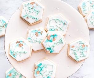 How to Bake, Decorate, and Ship Vegan Watercolor Sugar Cookies