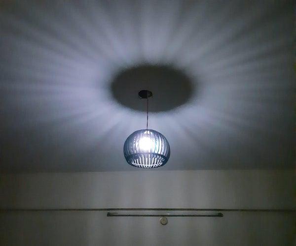 Laser Cut Pendant Light for Home