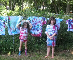 Tie-Dye With The Kids