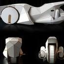 Paper Motorbike based on Bobby Car