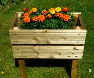 Wooden Box Planter