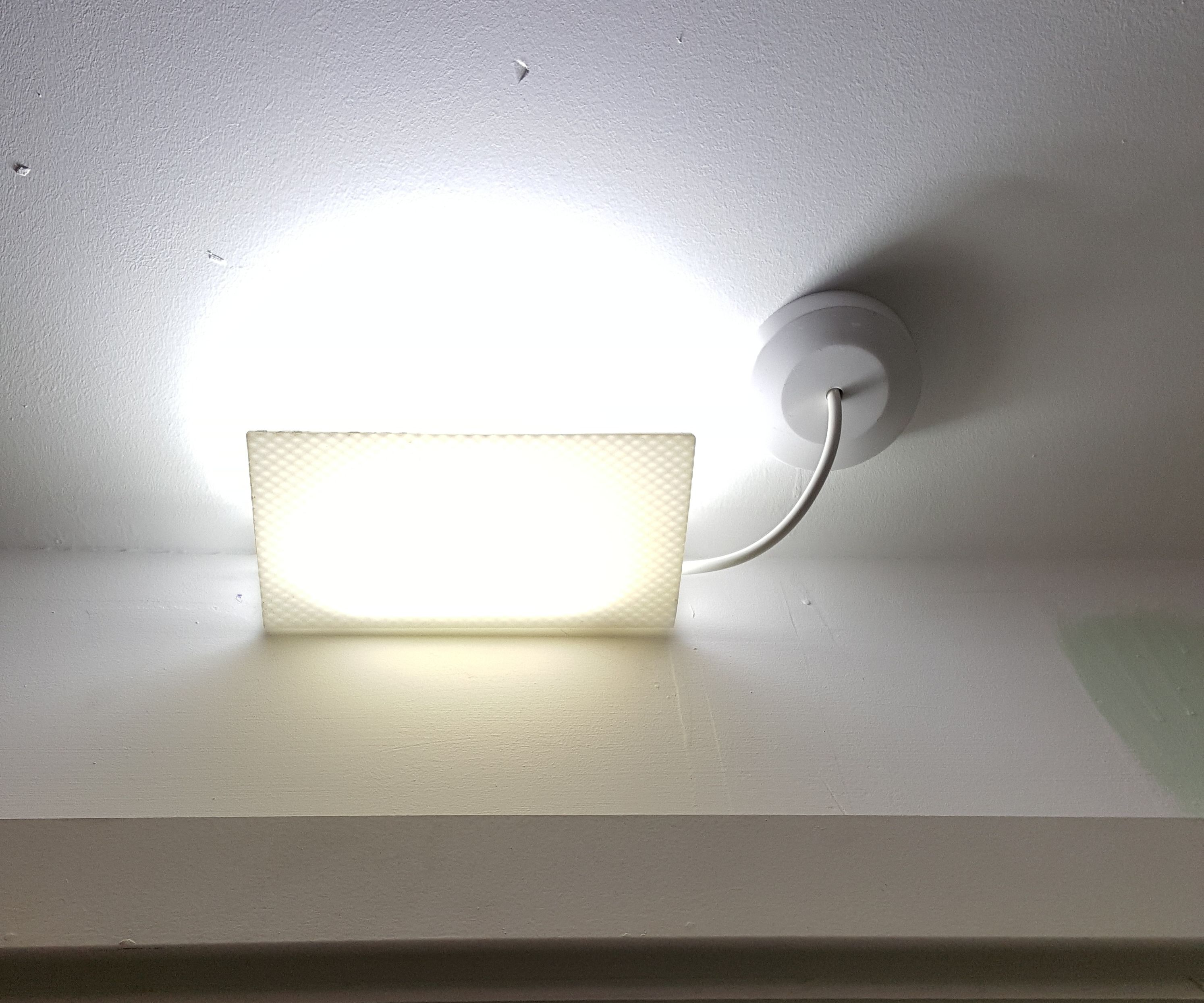 LED box room lamp